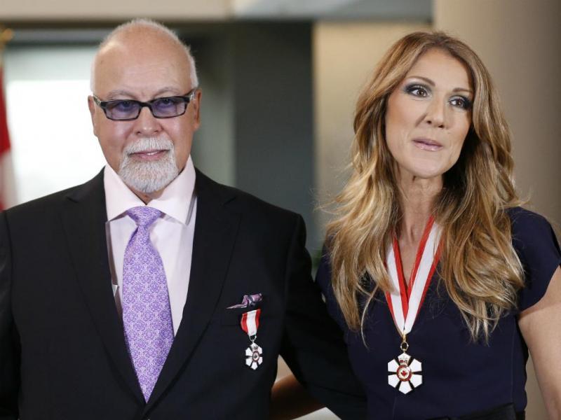 René Angélil e Céline Dion