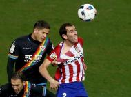 Atlético de Madrid vs Rayo Vallecano (EPA)