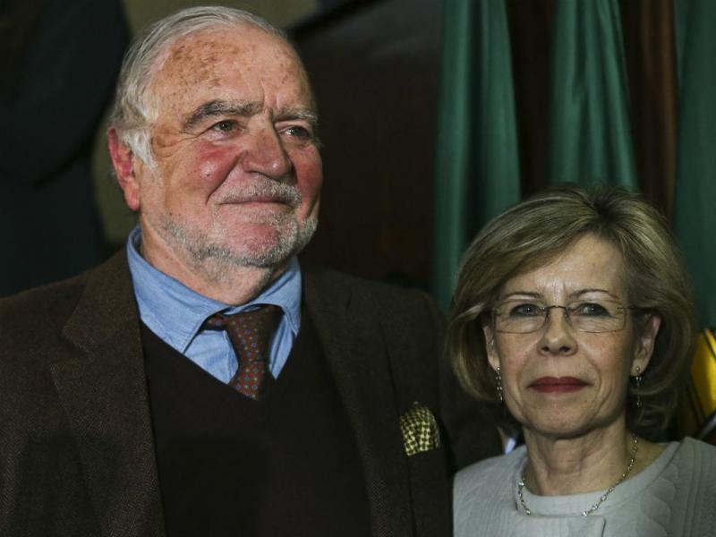 Manuel Alegre e Maria de Belém
