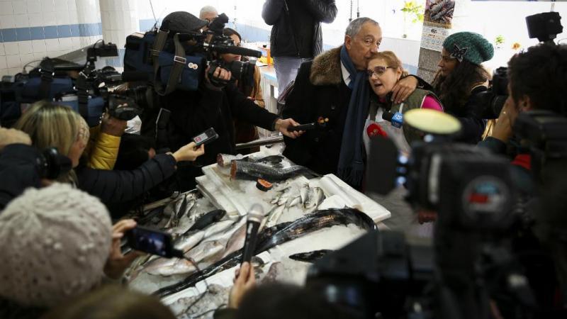 Marcelo Rebelo de Sousa em campanha para as Presidenciais [Lusa]