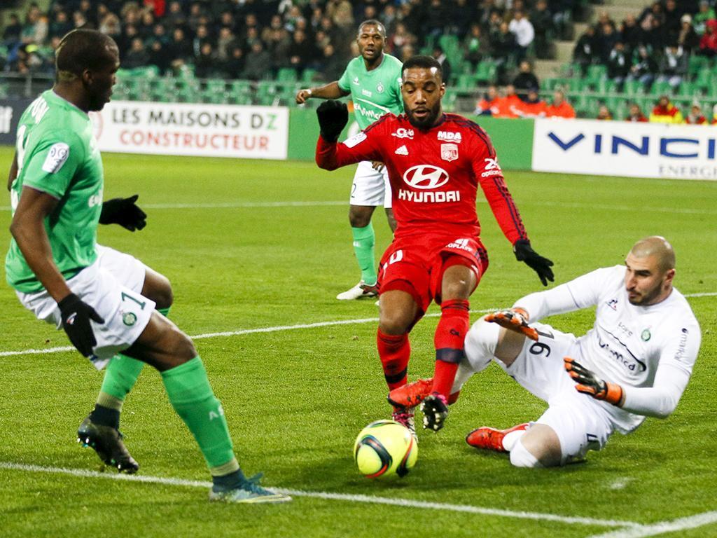 Saint Etienne-Lyon (Reuters)