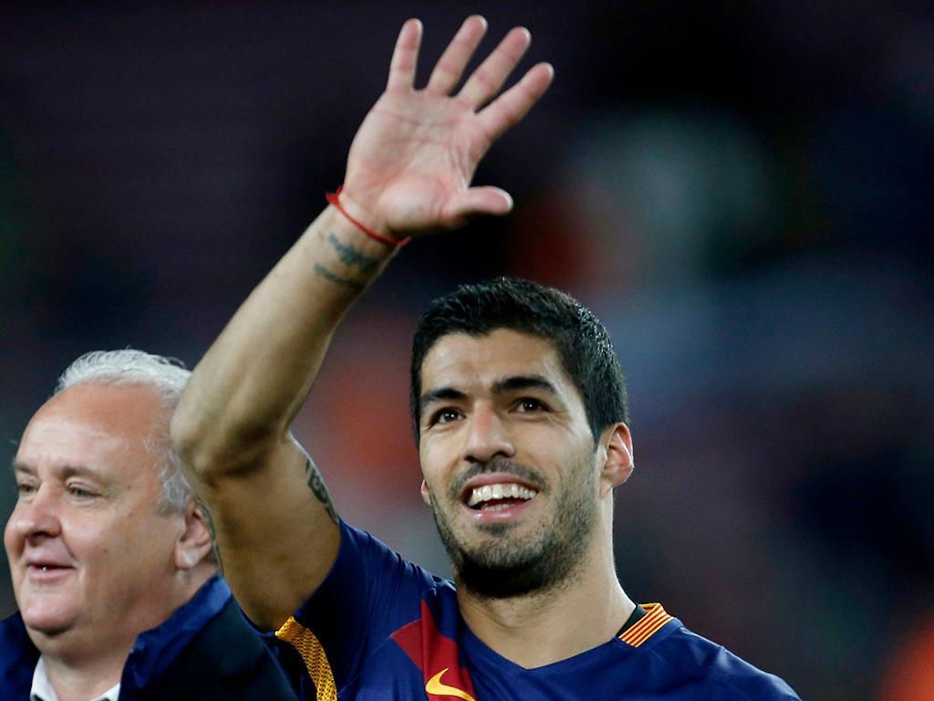 Luis Suarez (Barcelona) - 24 golos, 48 pontos