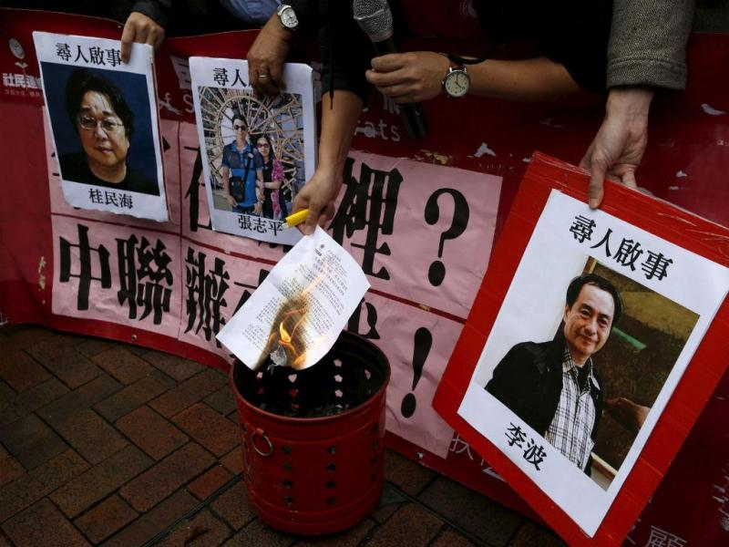 Livreiros desaparecidos em Hong Kong