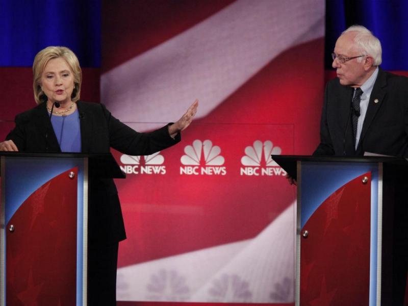 Debate dos pré-candidatos democratas à Casa Branca