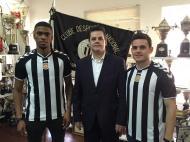 Ricardo Gomes e Joan Roman (foto: Nacional)