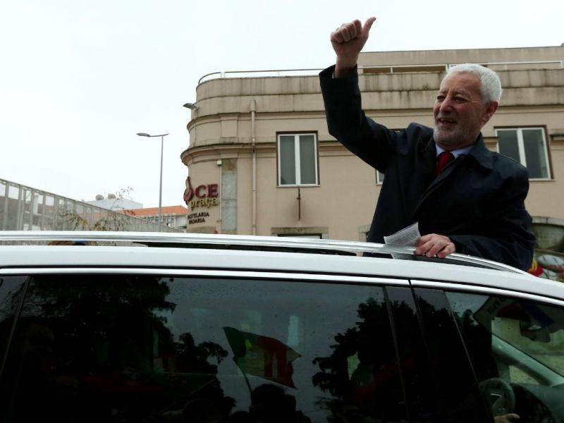Sampaio da Nóvoa em campanha em Braga