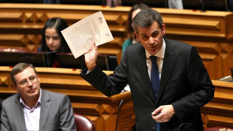 Deputado do PS Filipe Neto Brandão