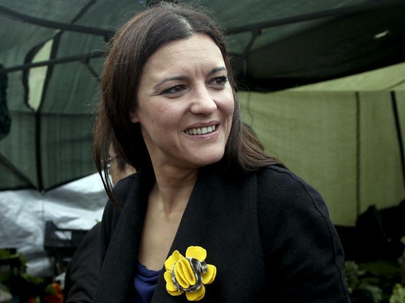 Marisa Matias em campanha em Vila do Conde