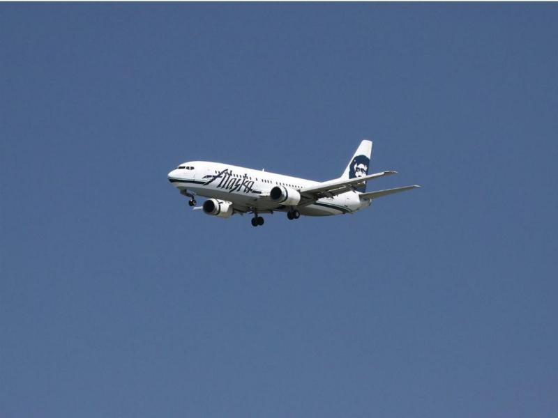 Avião Alaska Airlines