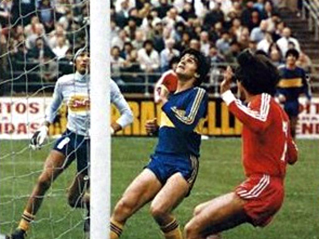 Gatti e Maradona, 1980