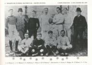 Primeiro jogo de futebol público