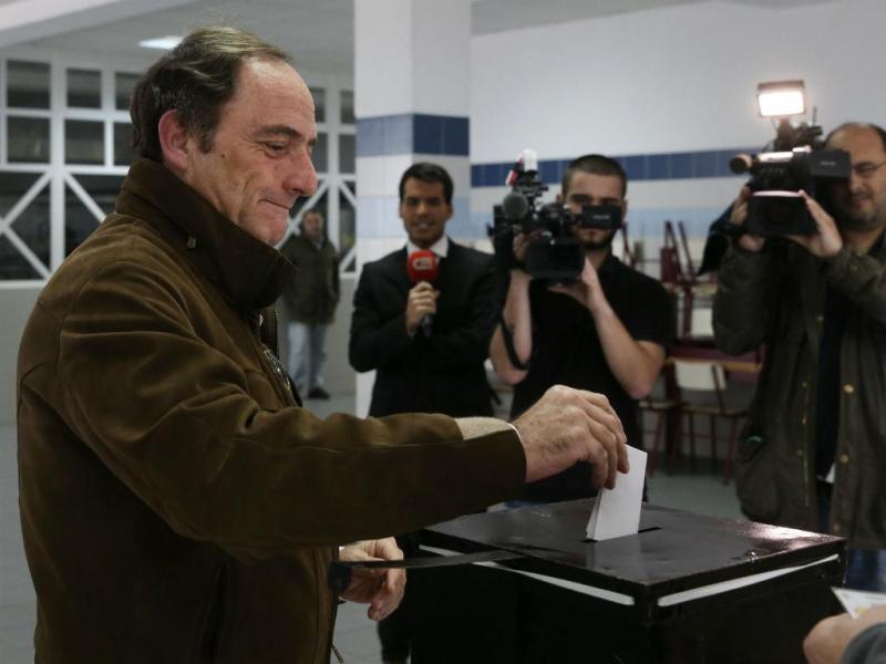 Paulo Portas votou em Caxias, Oeiras