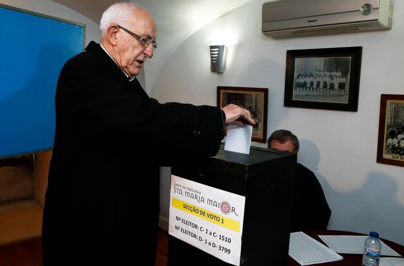 Henrique Neto votou em Lisboa