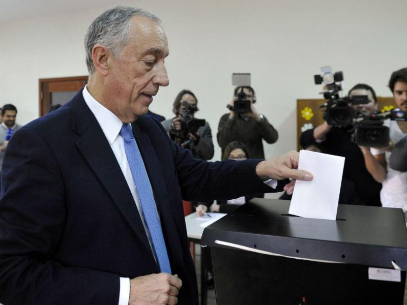 Marcelo Rebelo de Sousa votou em Celorico de Basto