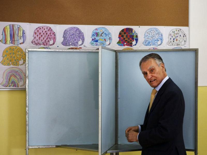 Cavaco Silva votou em Lisboa