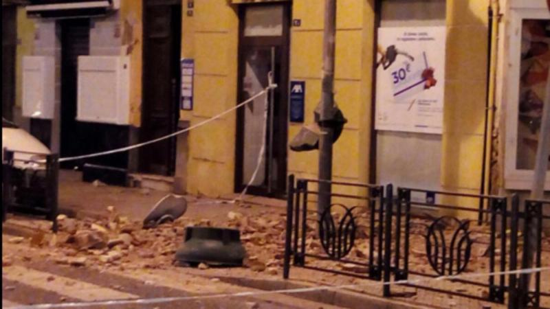 Sismo em Melilla (Reprodução/Twitter)