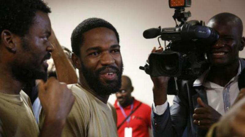 Ativista angolano Sedrick de carvalho