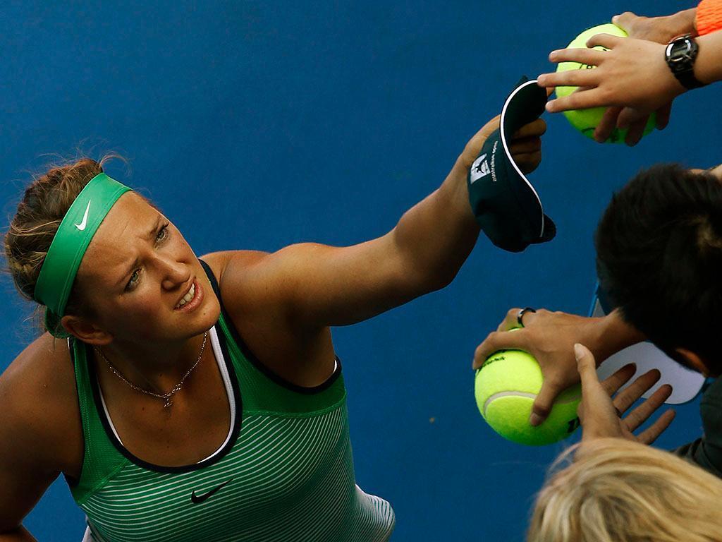 Victoria Azarenka no Open da Austrália (REUTERS)