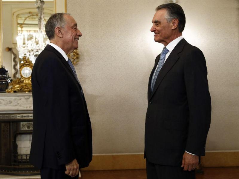 Encontro de Cavaco Silva com Marcelo Rebelo de Sousa