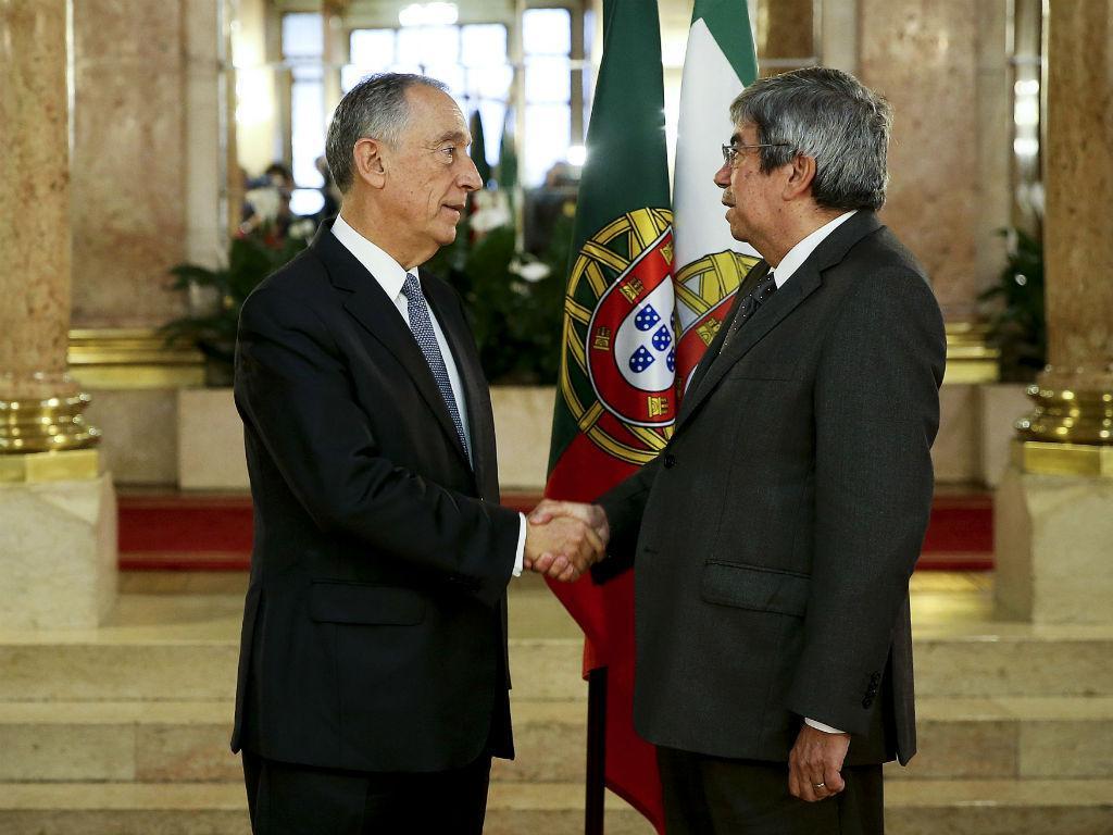 Encontro de Ferro Rodrigues com Marcelo Rebelo de Sousa