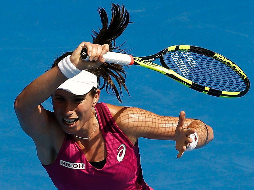 Johanna Konta no Open da Austrália (REUTERS)