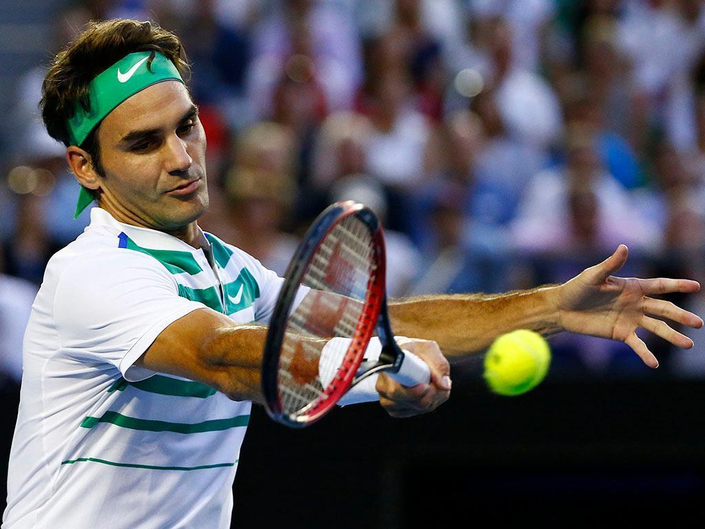 Roger Federer no Open da Austrália (REUTERS)