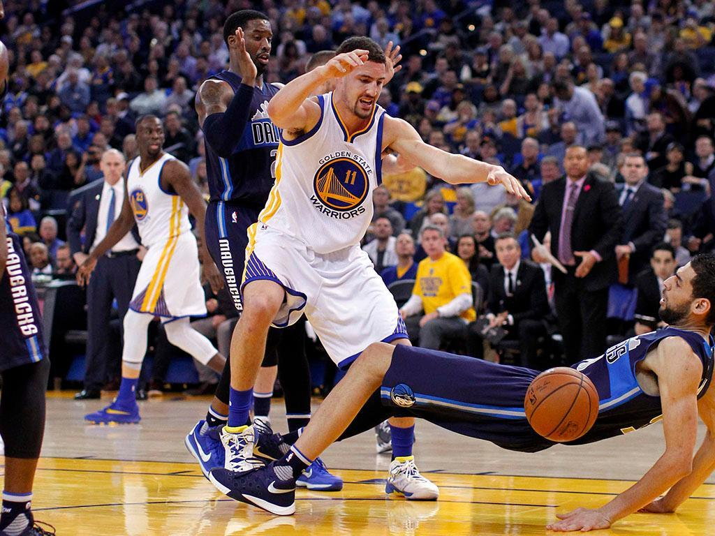 NBA: Golden State Warriors vs Dallas Mavericks (REUTERS)
