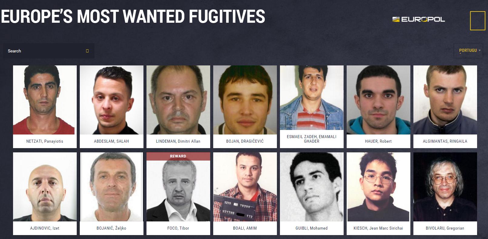 """4009de0df """"O  site  vai permitir partilhar informações sobre criminosos procurados"""