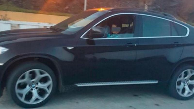 Criança de 10 anos apanhada a conduzir BMW em Espanha