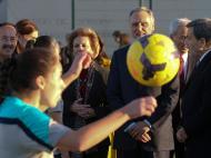 Cavaco Silva visita Complexo Desportivo de Rio Maior (Lusa)