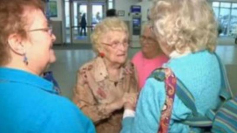 Mãe e filha conhecem-se 82 anos depois