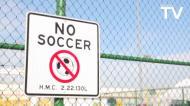 Gerrard inaugurou três novos campos de Futsal em Los Angeles