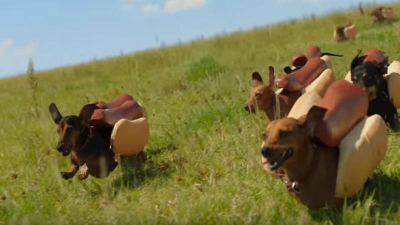 Anúncio da Heinz [Reprodução: Youtube]