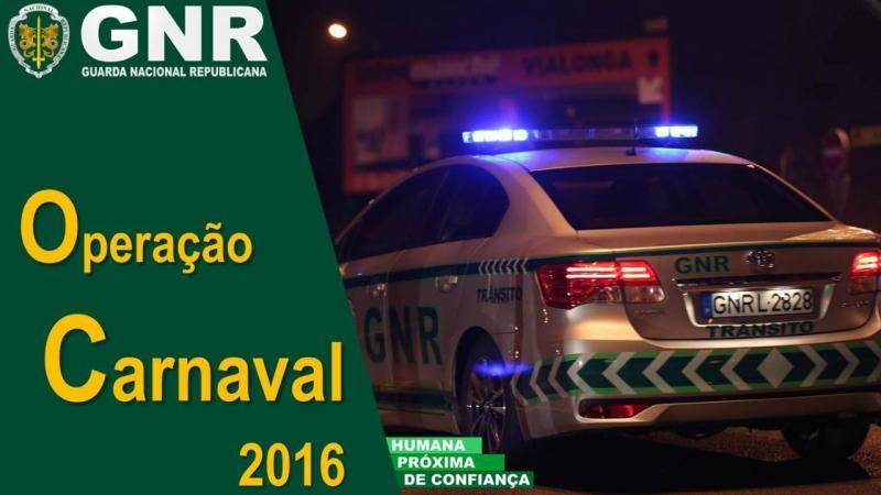 GNR - Operação Carnaval 2016