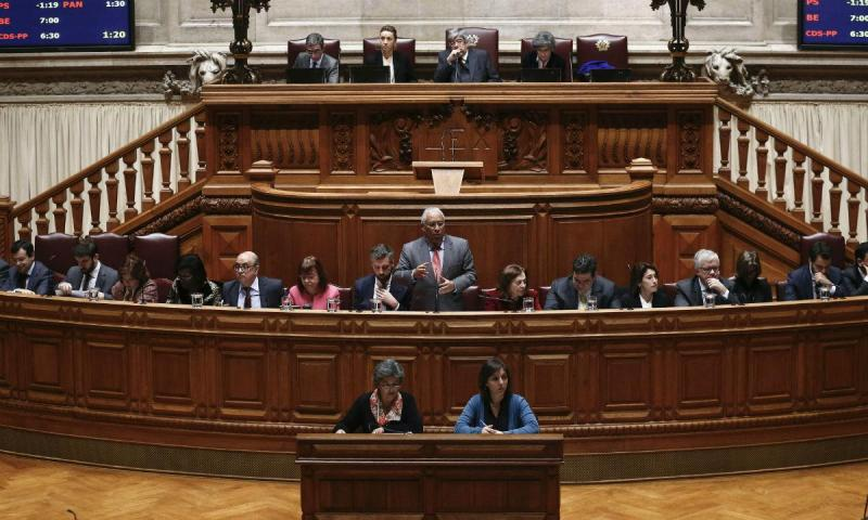 Debate quinzenal (António Cotrim/Lusa)