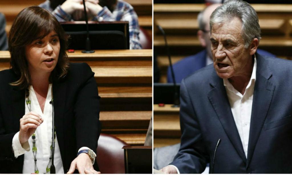 Catarina Martins e Jerónimo de Sousa (Lusa)