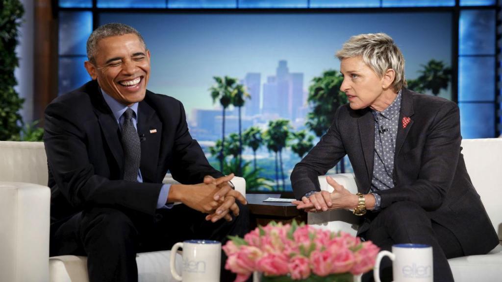 Obama no programa de Ellen DeGeneres