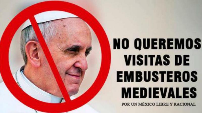 Críticas à visita do Papa ao México