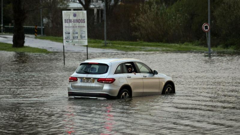 Inundações no Baixo Mondego