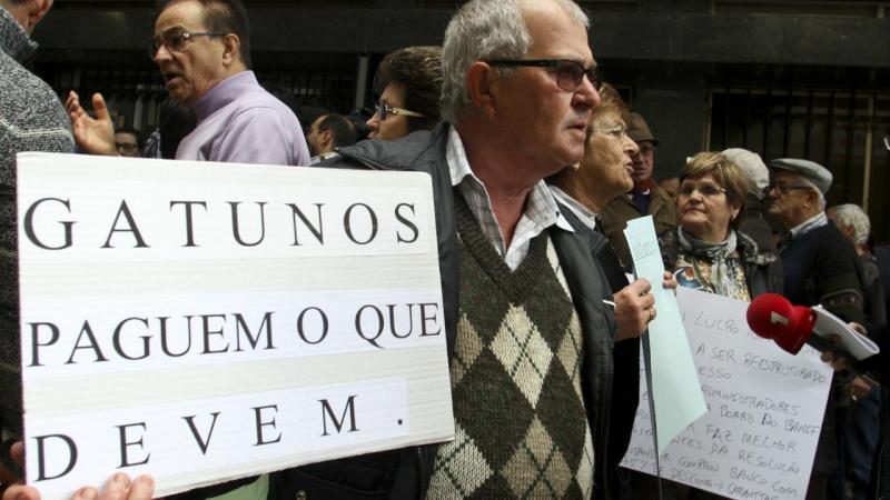 Manifestação no Funchal
