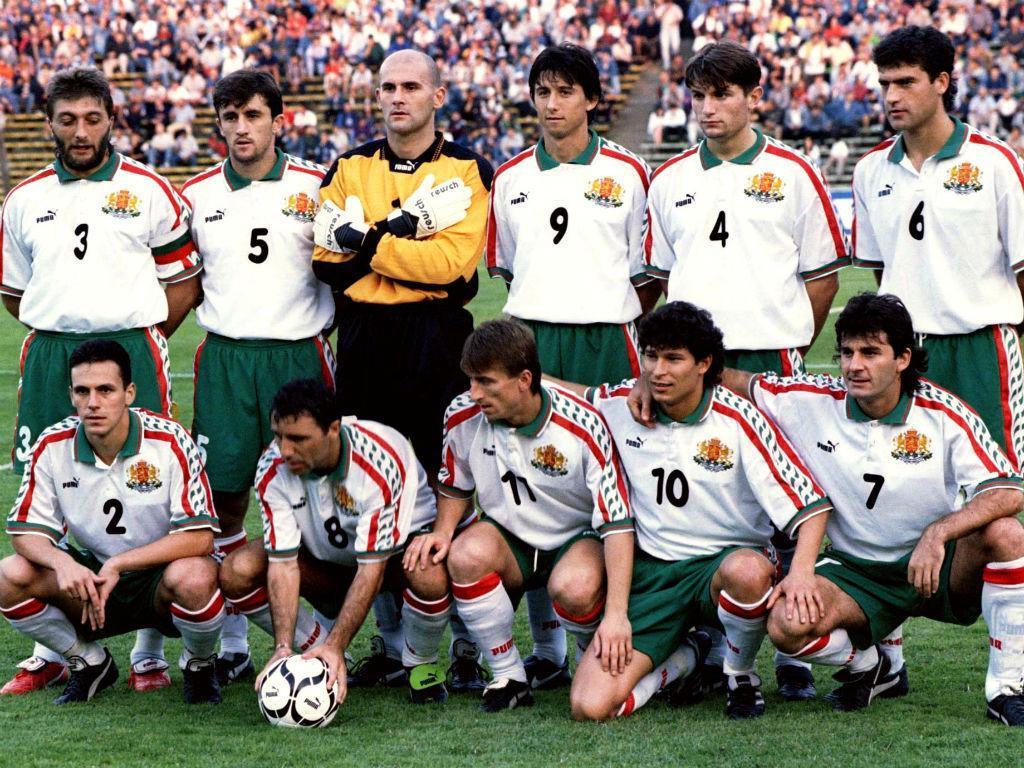 Seleção da Bulgária (Foto: Reuters)