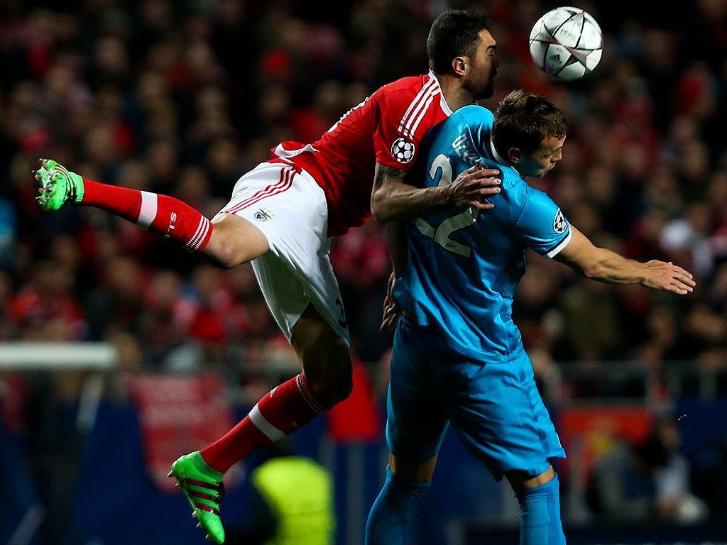 Benfica-Zenit (Lusa)