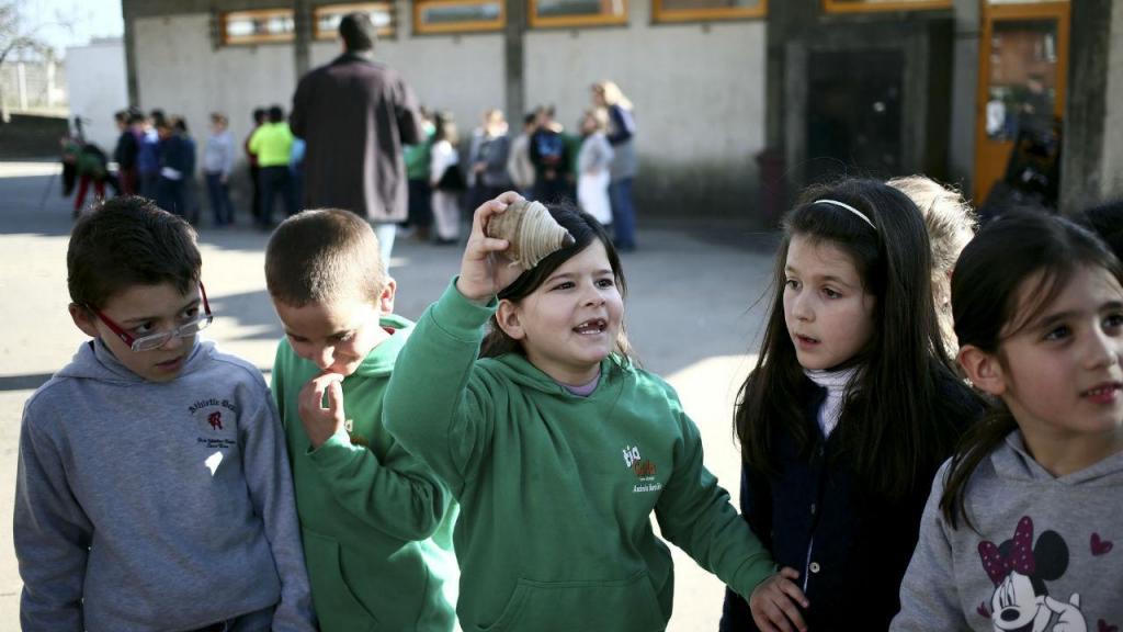 Jogos tradicionais nas escolas de Valongo
