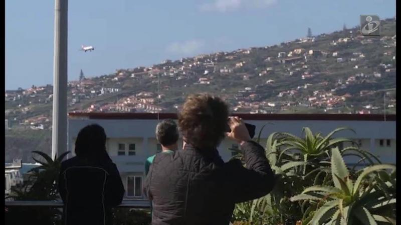 Mau tempo cancela voos na Madeira