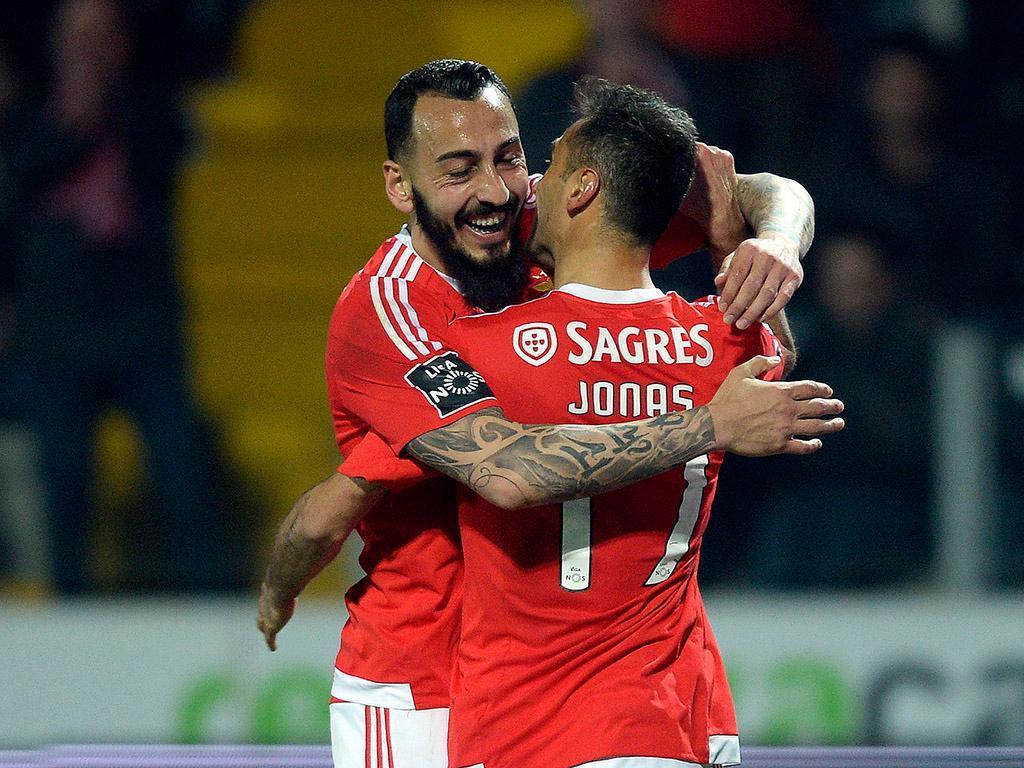 Benfica espera Mitroglou e Samaris mais cedo do que o previsto
