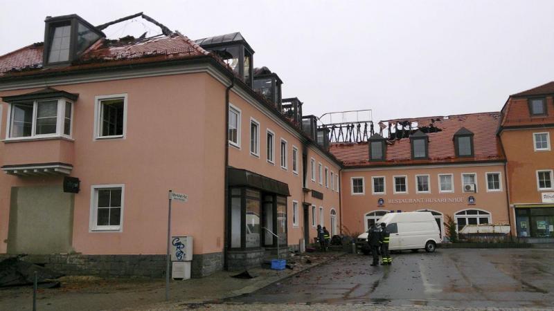 Incêndio em hotel para refugiados na Alemanha
