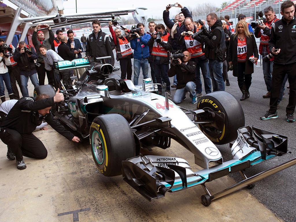 Primeiros testes F1 em 2016 (EPA)