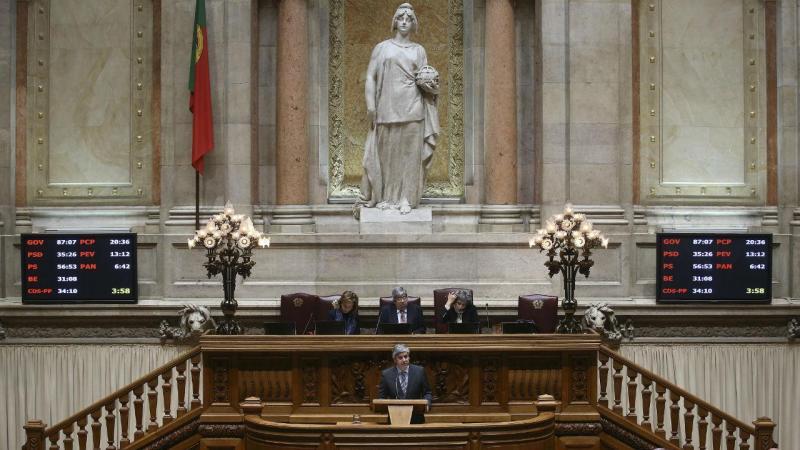 Orçamento do Estado em debate no Parlamento