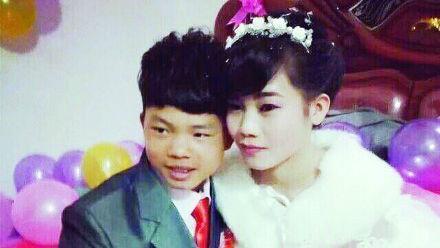 Jovens chineses de 16 anos casam-se