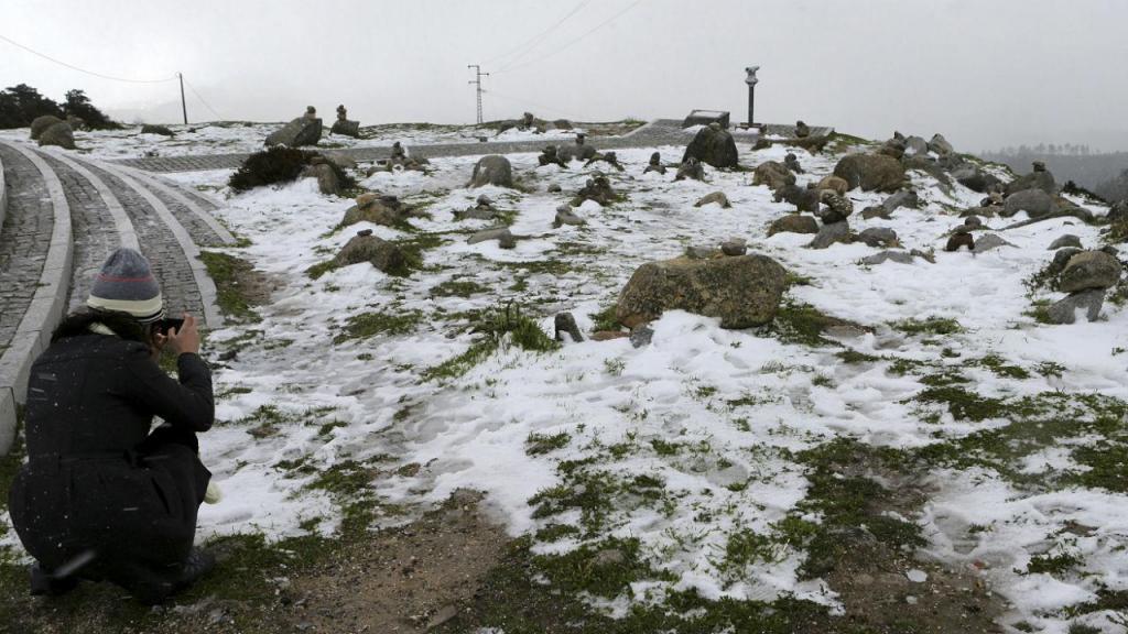Neve em Monchique
